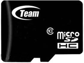 Memory card MicroSDHC 16GB Class 10 Team+adapter