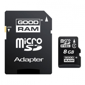 Memory card microSDHC 8Gb Class 4 Team + adapter