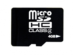 Memory card microSDHC 4Gb Class 4 TakeMS no adapter